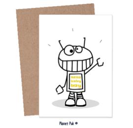 A5 kaart - Hello baby boy