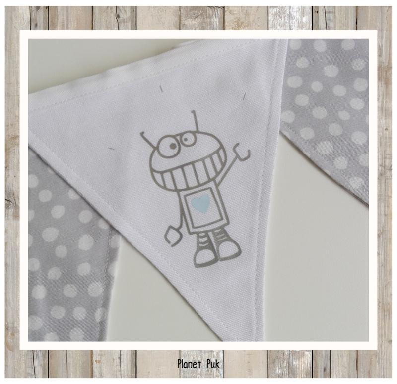 Vlaggenlijn Robot P17 (01)  -  2.5 mtr.