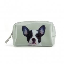 *NIEUW* Dog on Stone Beauty bag small 11 x 16 cm