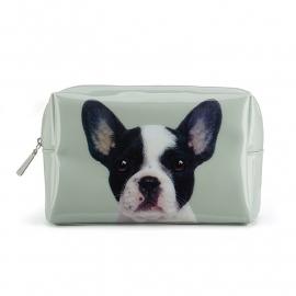 *NIEUW* Dog on Stone Large Beauty bag  16 x 25 cm