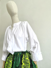 wax skirt green