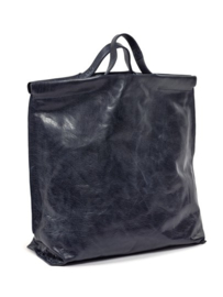 shopper navy Bea Mombaers