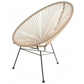 Acapulco chair taupe