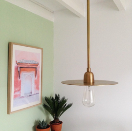 Lamp lp brass