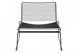 hee lounge chair zwart