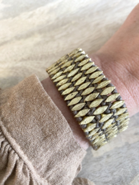 bracelet threez taupe