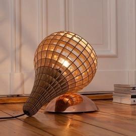 teardrop lamp copper