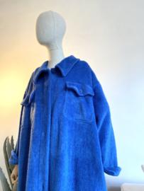 soft coat strong blue