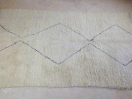 Beni ourain tapijt 190 x 310