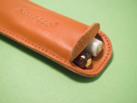 leather pouch for two liliput
