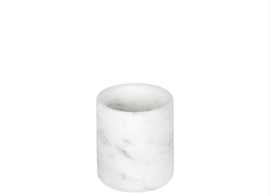 white marble small pot