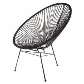 Acapulco chair zwart