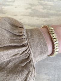 bracelet leaf blush