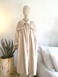 soft coat off white