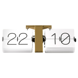 flip clock no case gold