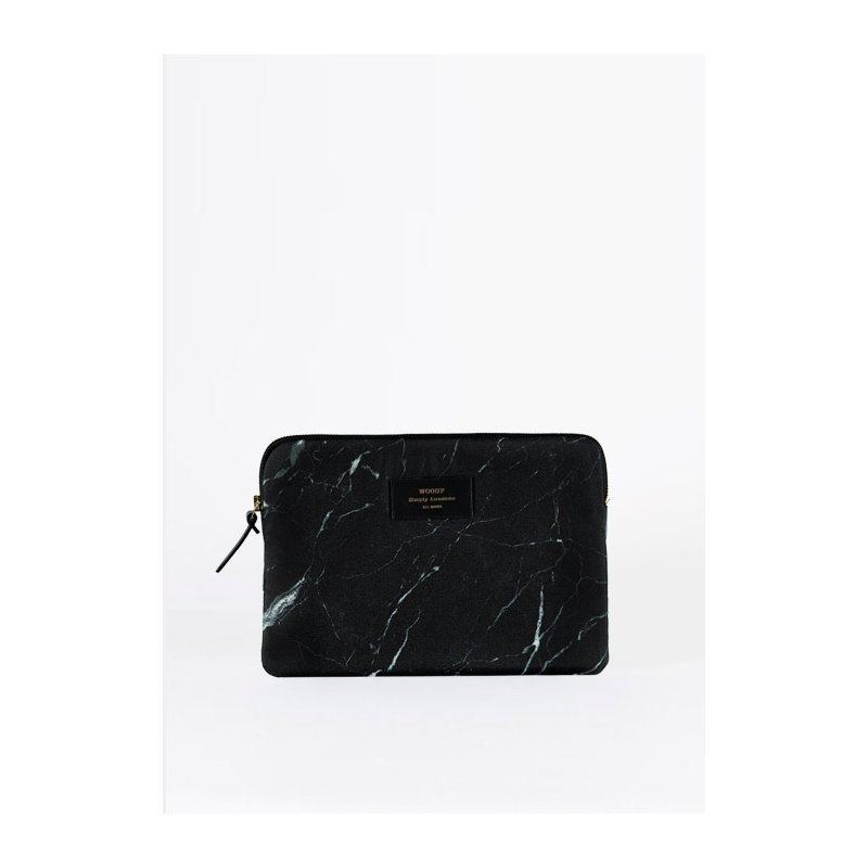woouf ipad sleeve 'Black Marble'