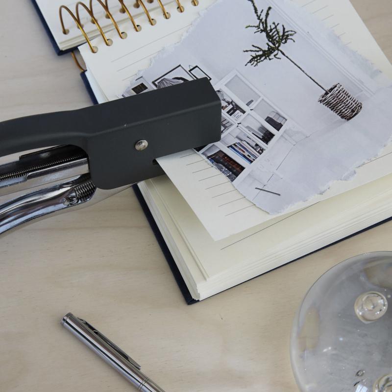 dark green stapler