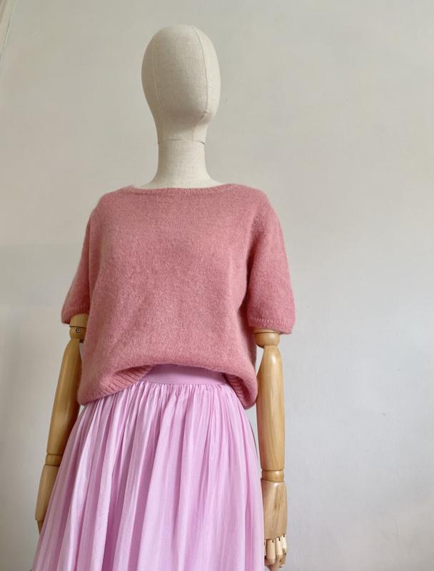 sorbet short sleeved sweater