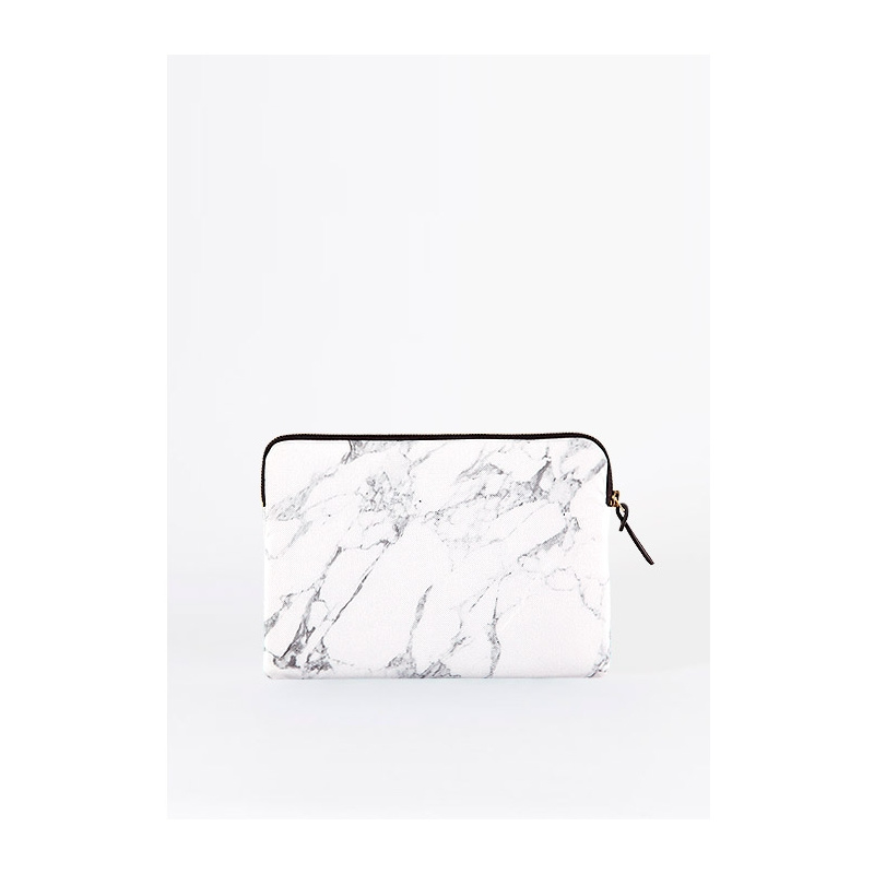 woouf ipad sleeve 'White Marble'