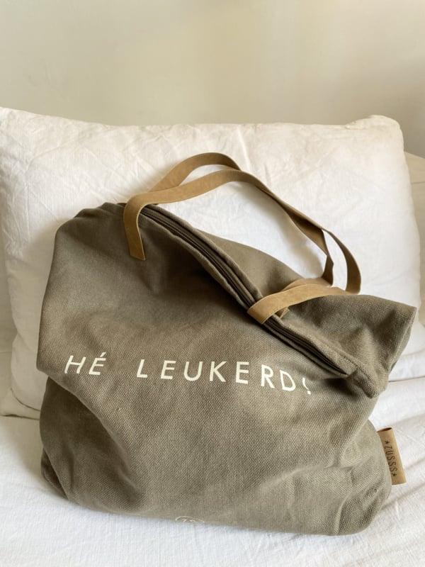 shopper 'hé leukerd'