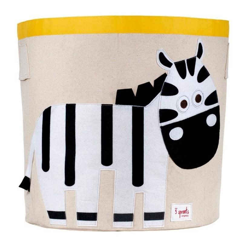 opbergmand zebra