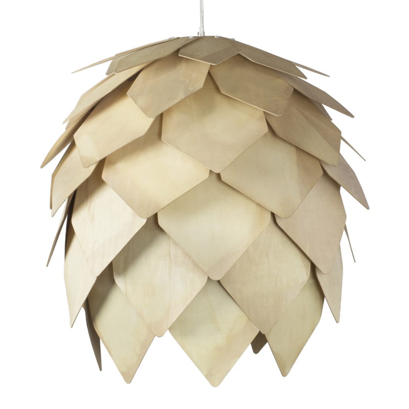 ceiling lamp wood natural