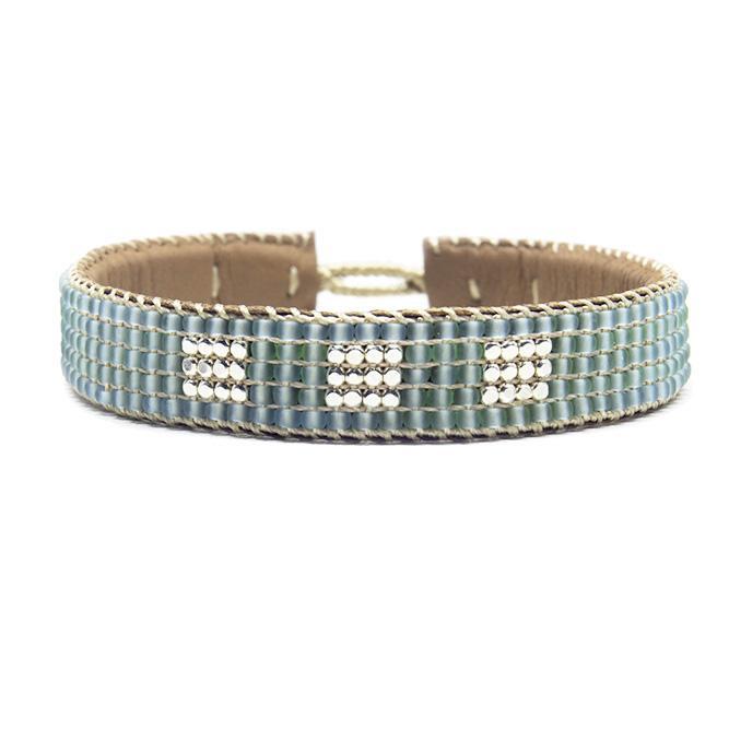 bracelet big block blue