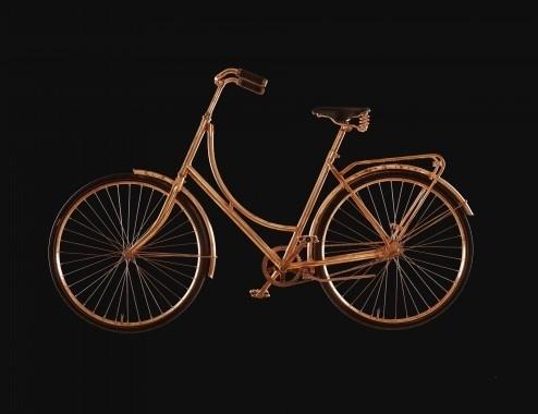 koperen fiets