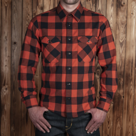Pike Brothers 1943 CPO Shirt Buffalo Red Flannel