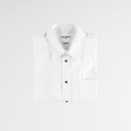 Eat Dust Oxford Combat Shirt White