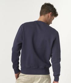 Merz b. Schwanen basic men's sweatshirt Demin Blue