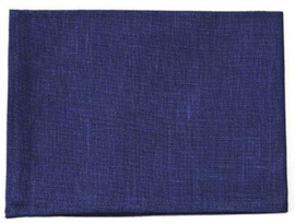 Fog Linen Work Kitchen Towel Dark Blue
