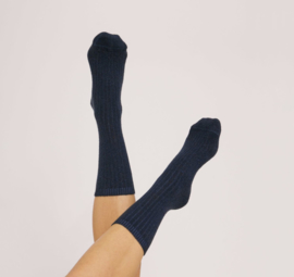 Organic Basics Recycled Denim Socks Rinsed