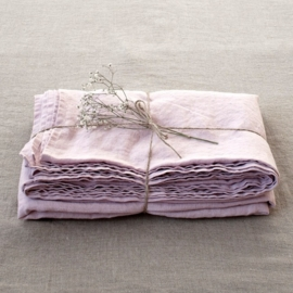 Pink Lavender Stone Washed Laken