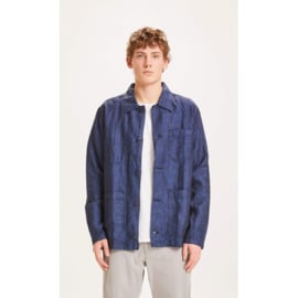 Knowledge Pine Linen Overshirt