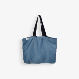 Linnen Twill Bag Petrol Blue