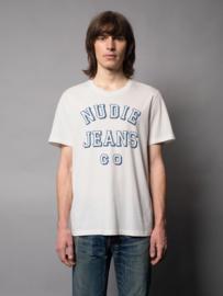 Nudie Jeans Roy Chalk White