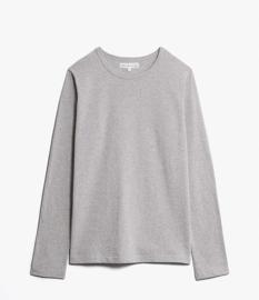 Merz b. Schwanen 1950 Long Sleeve Shirt Grey Melange
