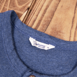 Pike Brothers 1927 Henley Shirt Short Sleeve Indigo