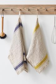 Blue Stripe Stonewashed Kitchen Towel