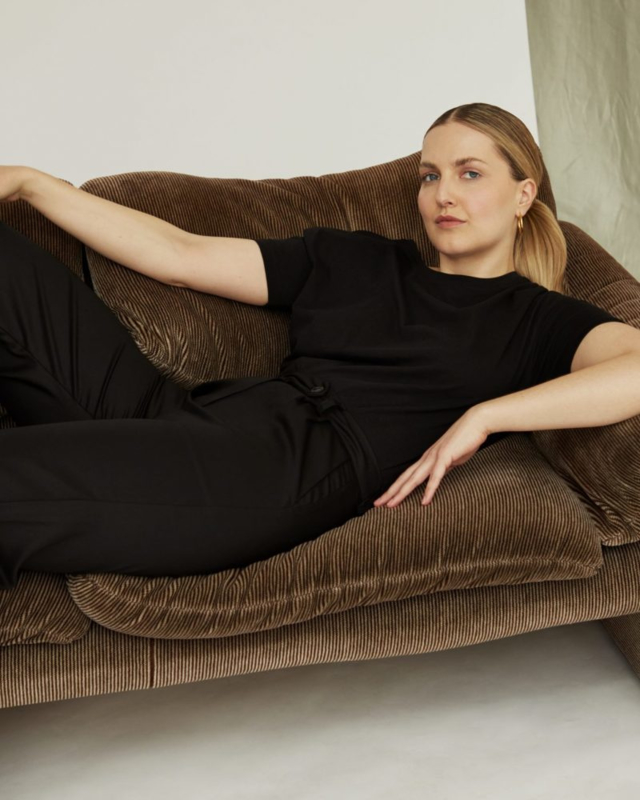 CharlieMary Stella Trousers Black