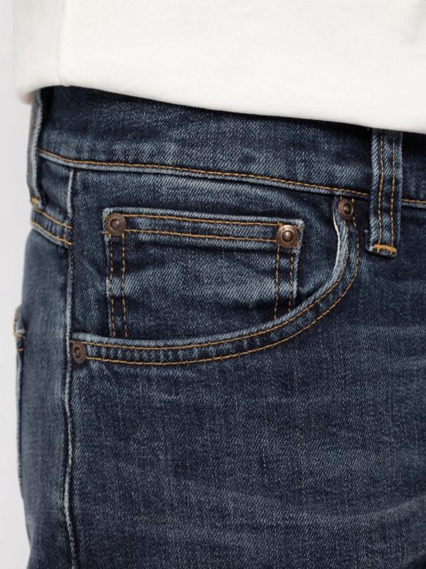 Nudie Jeans Lean Dean Worn Indigofera