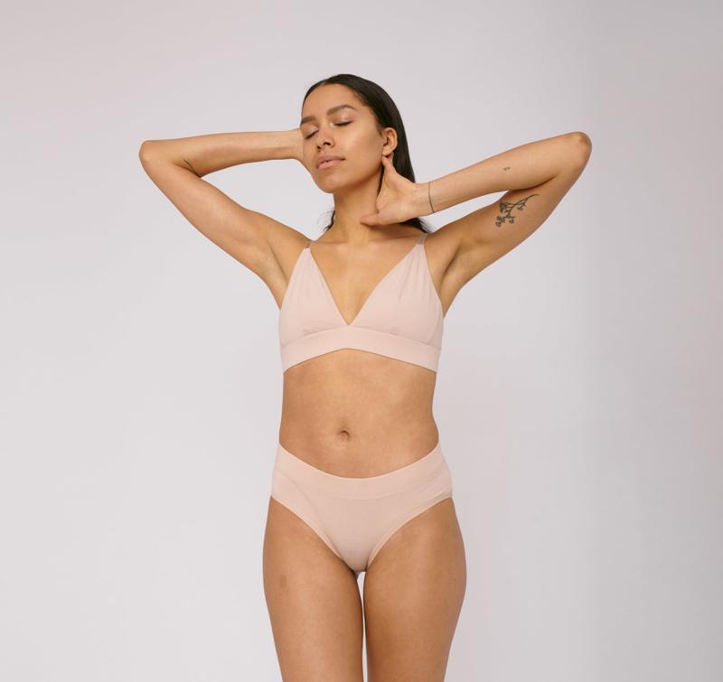Organic Basics Bikini Briefs Nude