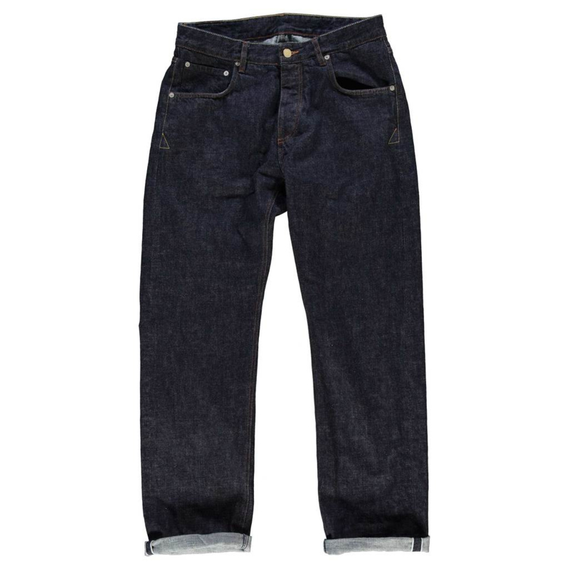 Eat Dust Loose Fit Oversized Heavy Selvedge