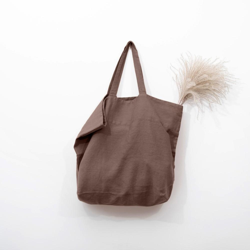 Linnen Big Bag Nutmeg