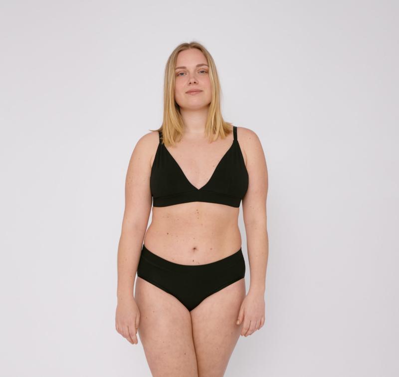 Organic Basics Bikini Briefs Black