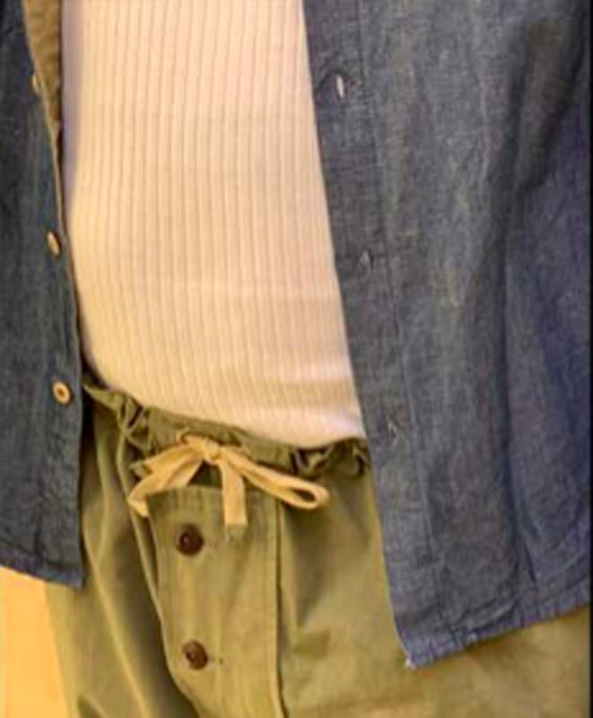 Fleurs de Bagne Classic Shirt Chambray
