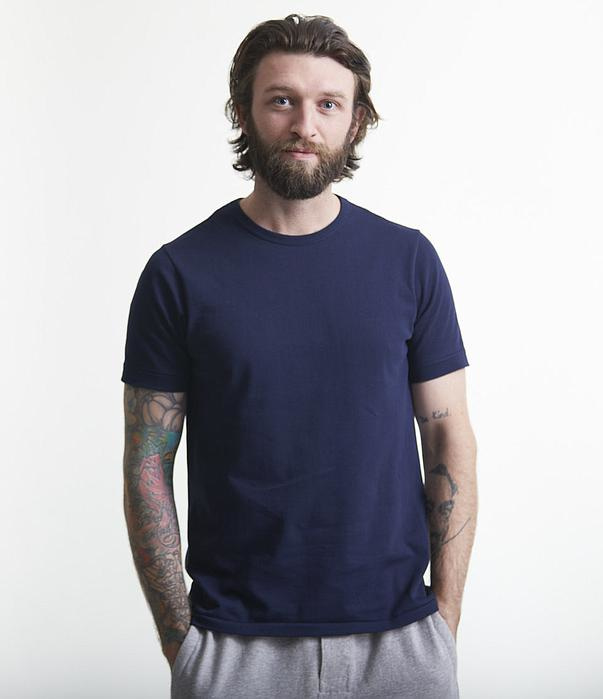 Merz b. Schwanen 1950 Shirt Ink Blue