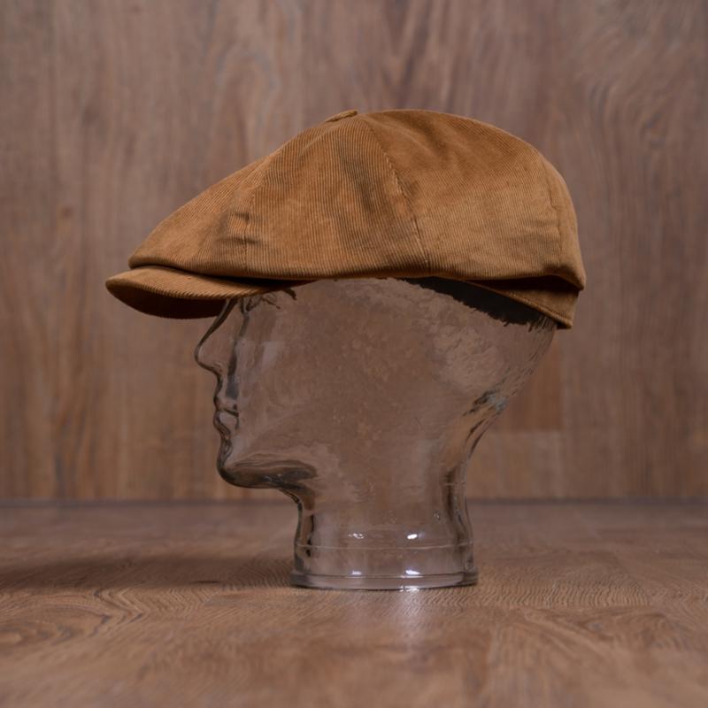 1928 Newsboy Cap Cord Mud
