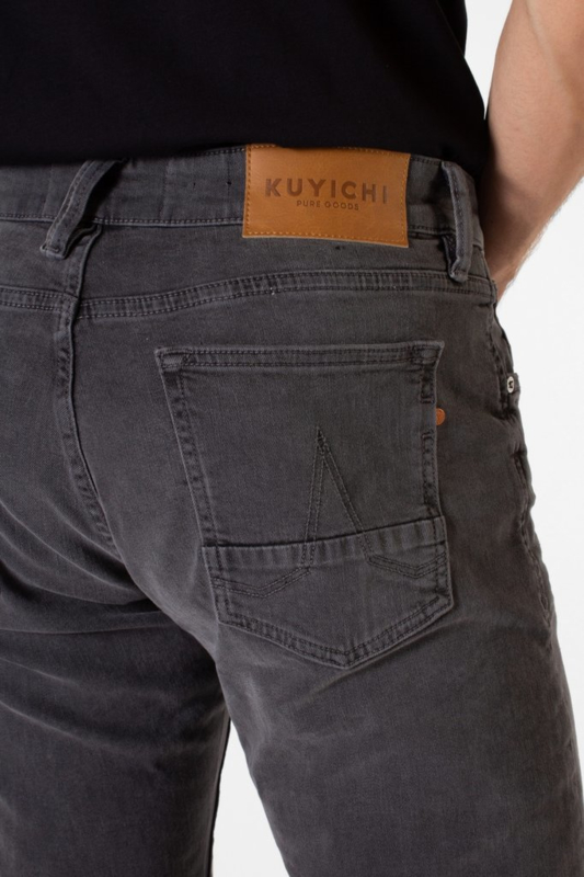 Kuyichi Jim Tapered Rebel Grey